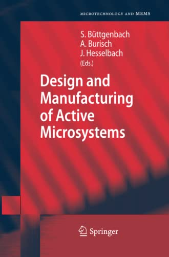 9783642267383: Design and Manufacturing of Active Microsystems (Microtechnology and MEMS)