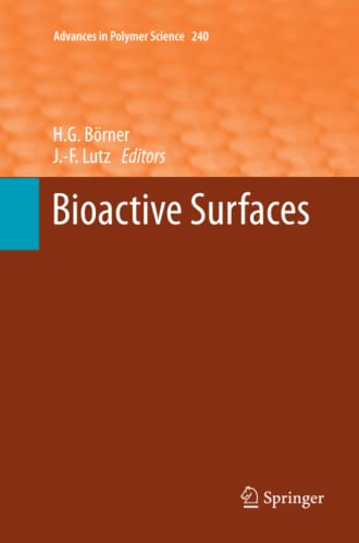 9783642268533: Bioactive Surfaces (Advances in Polymer Science)
