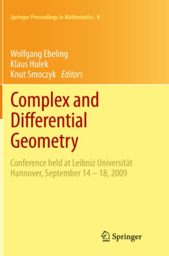 Complex And Differential Geometry : Conf