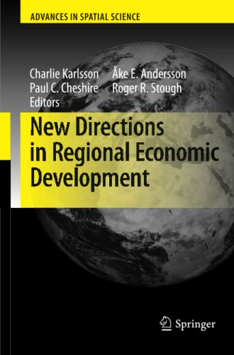 9783642269134: New Directions in Regional Economic Development (Advances in Spatial Science)
