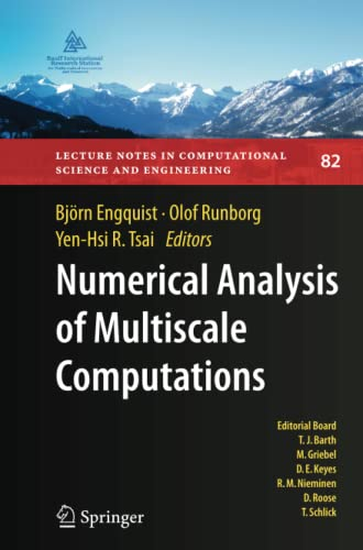 Numerical Analysis of Multiscale Computations: Proceedings of a Winter Workshop at the Banff ...