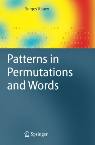 9783642269875: Patterns in Permutations and Words (Monographs in Theoretical Computer Science. An EATCS Series)