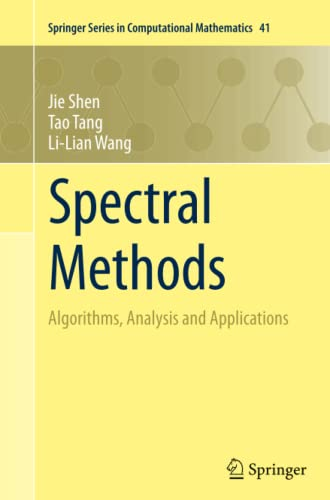 9783642270970: Spectral Methods: Algorithms, Analysis and Applications (Springer Series in Computational Mathematics)