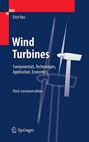 9783642271502: Wind Turbines: Fundamentals, Technologies, Application, Economics