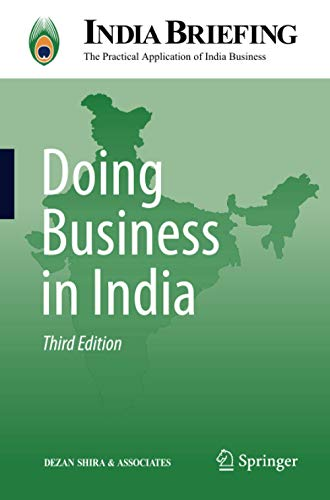 9783642276170: Doing Business in India (India Briefing)