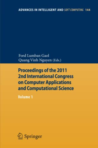 Proceedings of the 2011 2nd International Congress on Computer Applications and Computational ...