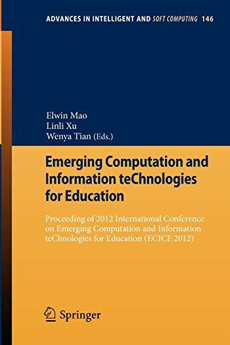 Emerging Computation and Information teChnologies for Education: Elwin Mao