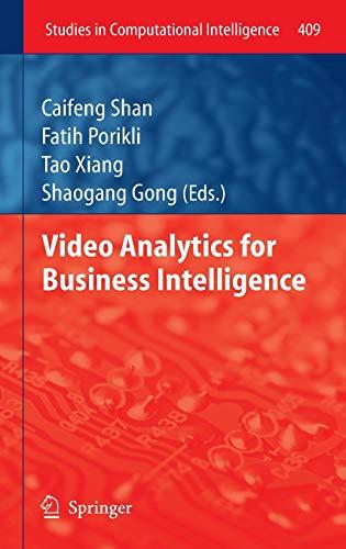 9783642285974: Video Analytics for Business Intelligence (Studies in Computational Intelligence)