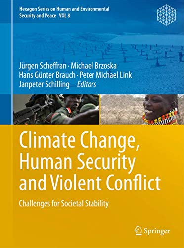 Climate Change, Human Security and Violent Conflict: Jürgen Scheffran