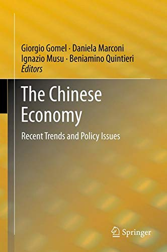 The Chinese Economy: Recent Trends and Policy Issues: Springer