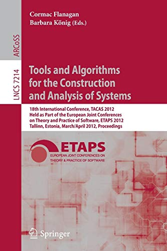 Tools and Algorithms for the Construction and Analysis of Systems: 18th International Conference, ...