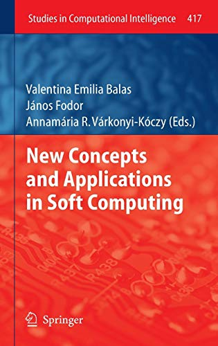 9783642289583: New Concepts and Applications in Soft Computing (Studies in Computational Intelligence)