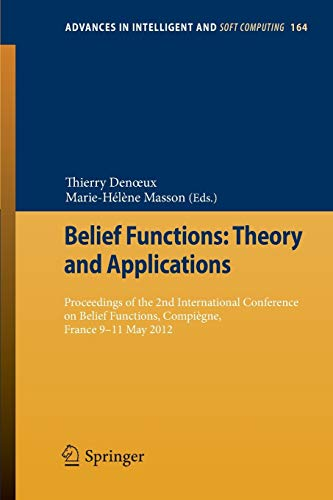 Belief Functions: Theory and Applications: Thierry Denoeux