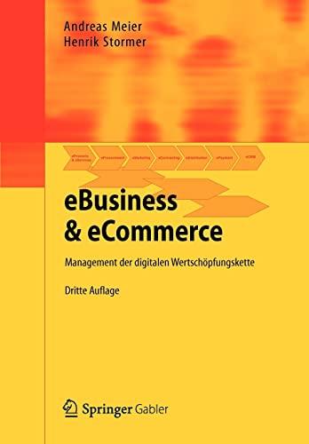 9783642298011: Ebusiness & Ecommerce: Management Der Digitalen Wertschopfungskette