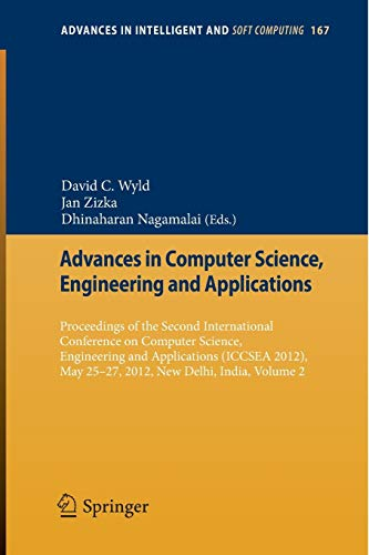 Advances in Computer Science, Engineering & Applications: David C. Wyld