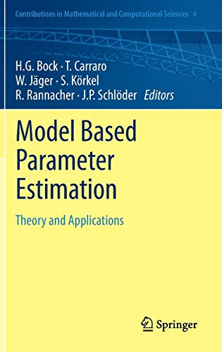 9783642303661: Model Based Parameter Estimation: Theory and Applications (Contributions in Mathematical and Computational Sciences)