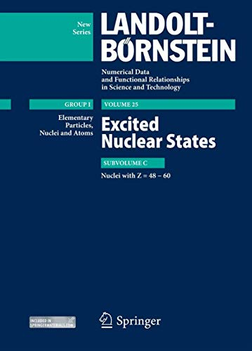 Excited Nuclear States - Nuclei with Z=48-60 (Hardcover): Zoya N. Soroko