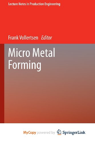 9783642309175: Micro Metal Forming