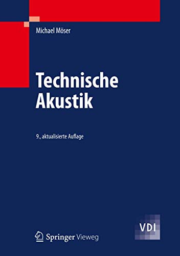 9783642309328: Technische Akustik (German Edition)
