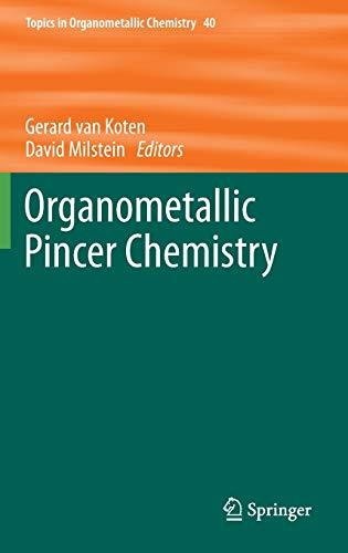 Organometallic Pincer Chemistry: Gerard van Koten