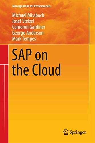 9783642312106: SAP on the Cloud (Management for Professionals)