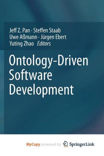 9783642312274: Ontology-Driven Software Development