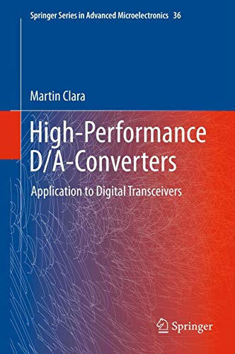 9783642312281: High-Performance D/A-Converters: Application to Digital Transceivers (Springer Series in Advanced Microelectronics)