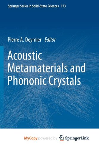 9783642312335: Acoustic Metamaterials and Phononic Crystals