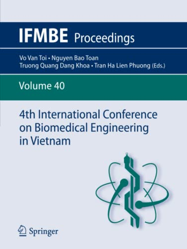 4th International Conference on Biomedical Engineering in Vietnam IFMBE Proceedings