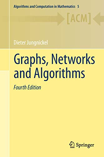 9783642322778: Graphs, Networks and Algorithms (Algorithms and Computation in Mathematics)