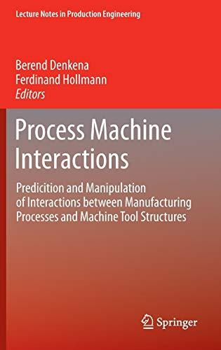Process Machine Interactions: Berend Denkena