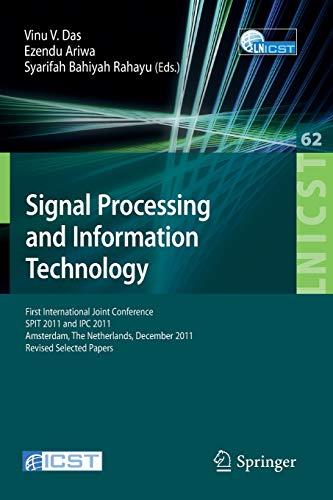 Signal Processing and Information Technology: First International: Das, Vinu V.
