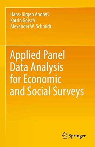 9783642329135: Applied Panel Data Analysis for Economic and Social Surveys