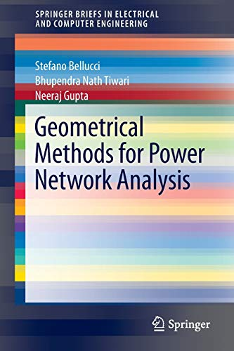 9783642333439: Geometrical Methods for Power Network Analysis (SpringerBriefs in Electrical and Computer Engineering)