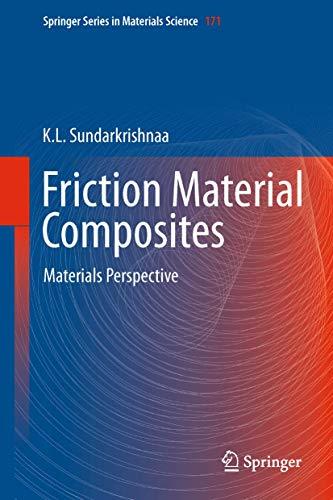 Friction Material Composites.: Sundarkrishnaa, K.L.: