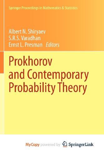 9783642335501: Prokhorov and Contemporary Probability Theory: In Honor of Yuri V. Prokhorov