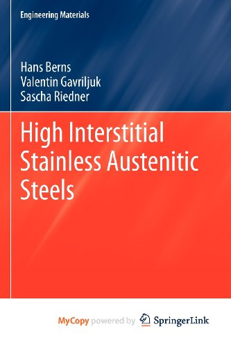 9783642337024: High Interstitial Stainless Austenitic Steels