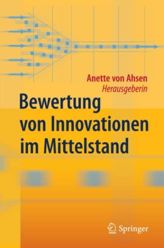 9783642337260: Bewertung von Innovationen im Mittelstand (German Edition)