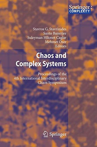 9783642339134: Chaos and Complex Systems: Proceedings of the 4th International Interdisciplinary Chaos Symposium
