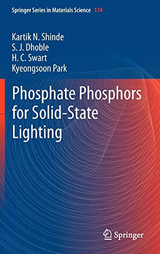 9783642343117: Phosphate Phosphors for Solid-State Lighting (Springer Series in Materials Science)