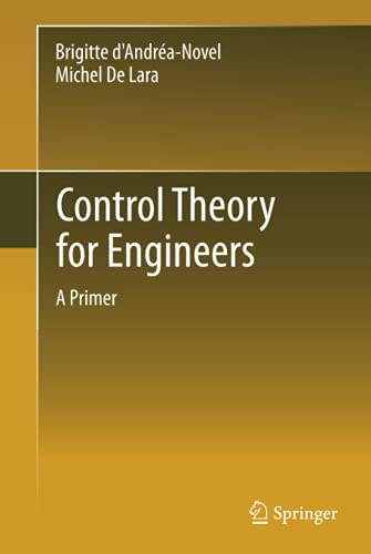 9783642343230: Control Theory for Engineers: A Primer (Environmental Science and Engineering / Environmental Engine)
