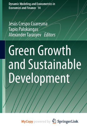 9783642343551: Green Growth and Sustainable Development