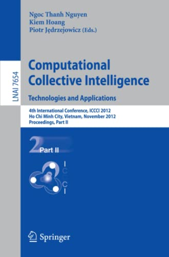 Computational Collective Intelligence. Technologies and Applications: 4th: n/a