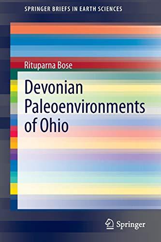 Devonian Paleoenvironments of Ohio: Rituparna Bose