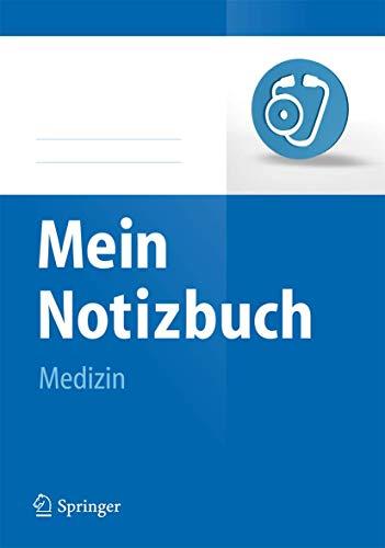 9783642350078: Mein Notizbuch Medizin (German Edition)