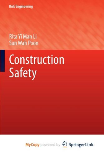 9783642350474: Construction Safety