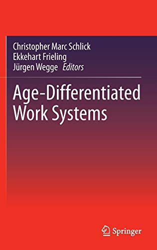 9783642350566: Age-Differentiated Work Systems