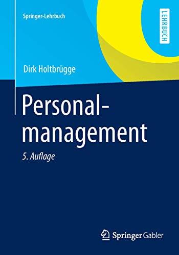 9783642352966: Personalmanagement (Springer-Lehrbuch) (German Edition)