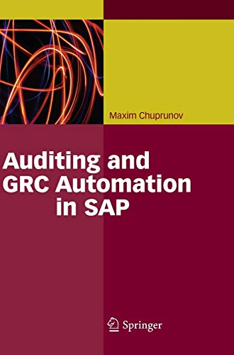 9783642353017: Auditing and GRC Automation in SAP