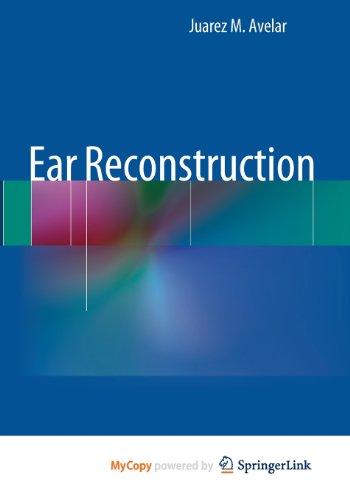 9783642356841: Ear Reconstruction